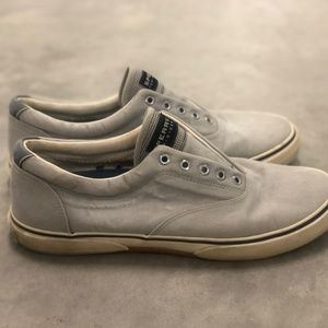 Laceless Sperry Top Sliders Size 11